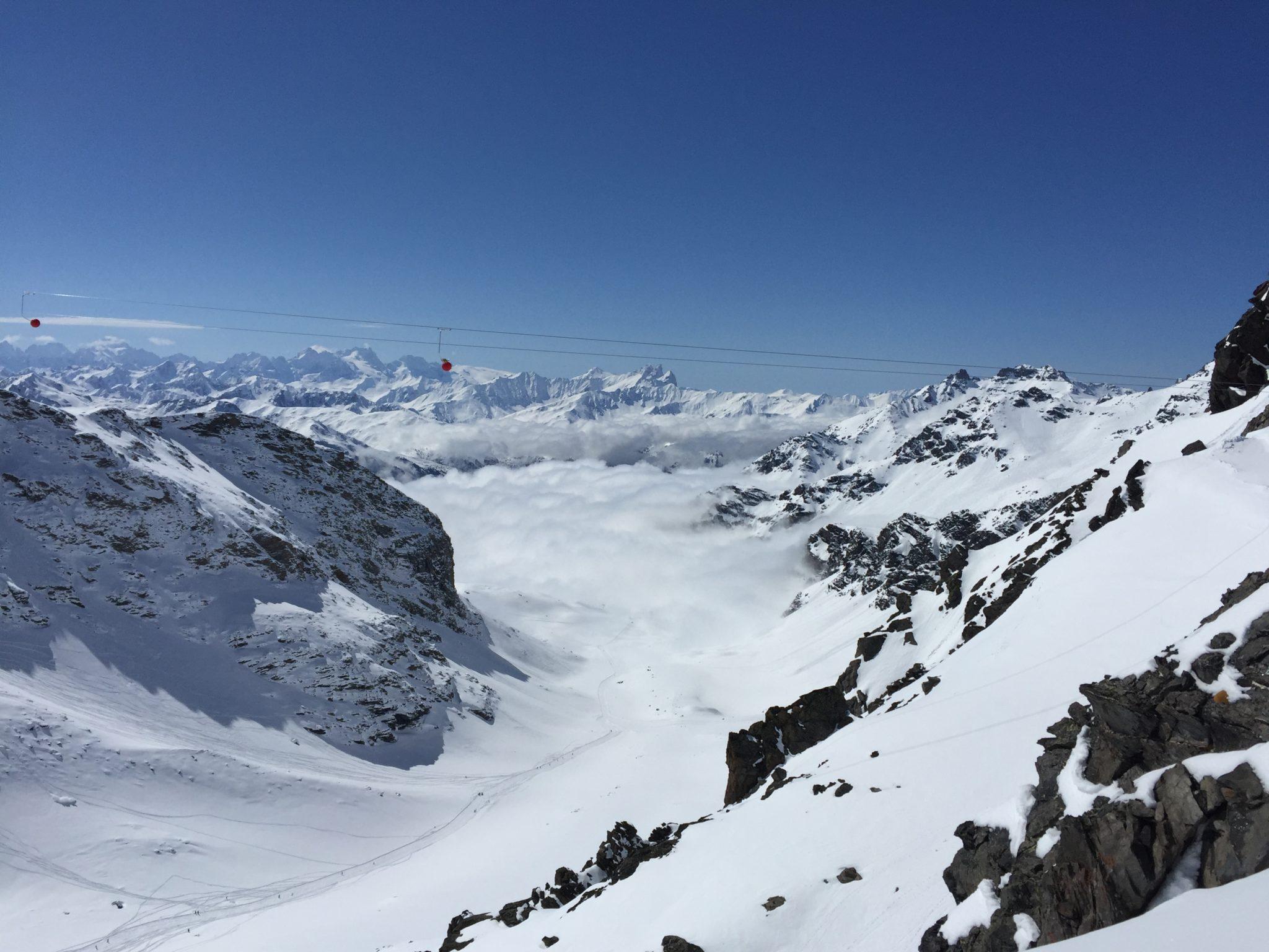 Przyjemne z pożytecznym w Alpach