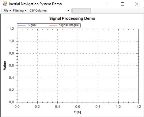 Filtering algorithms demo